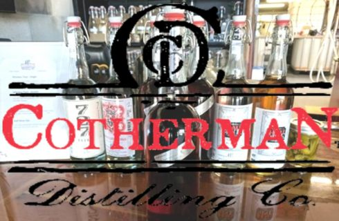 Cotherman Distilling CO logo, DunedIn, FL