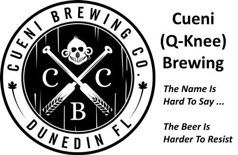 Cueni Brewing Co logo - DunedIn, FL