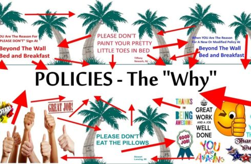 Policies page infographic: